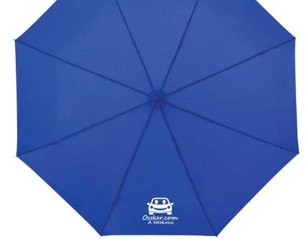 Oszkáros esernyő nyitva