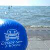 Oszkáros strandlabda a Balcsin
