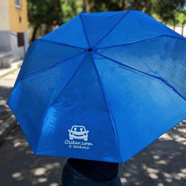 Oszkáros esernyő árnyékban